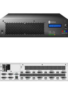 RGB Spectrum MediaWall 2900 Display Processor Resolutions up to 2560 x 1600 with a VDA or DSx 264 Codec